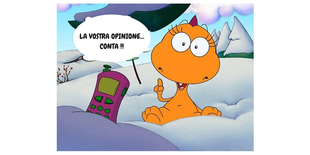 La vostra opinione...conta !!